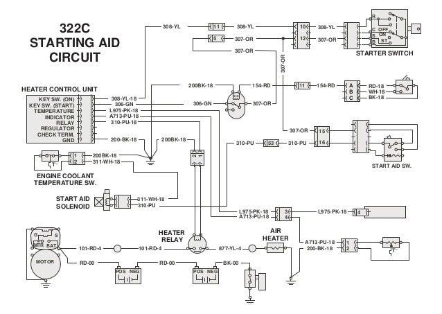 322 Electrical System Caterpillar  1