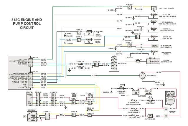 322 electrical system caterpillar 1 rh slideshare net 3126 Caterpillar Engine Specs 1693 Caterpillar Engine Specifications
