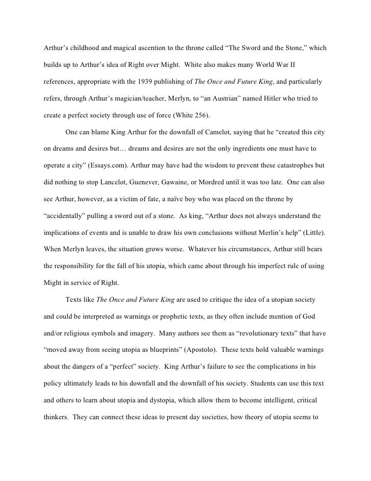 utopia perfect society essay View and download utopia essays examples  outlines, thesis statements, and conclusions for your utopia essay  in the world of the utopia, the perfect society .
