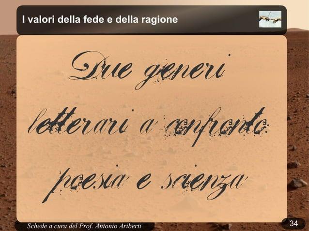 34Schede a cura del Prof. AribertiLa creazione nel Corano«Son essi che furon creati dalnulla, o son loro i creatori? Sonfo...