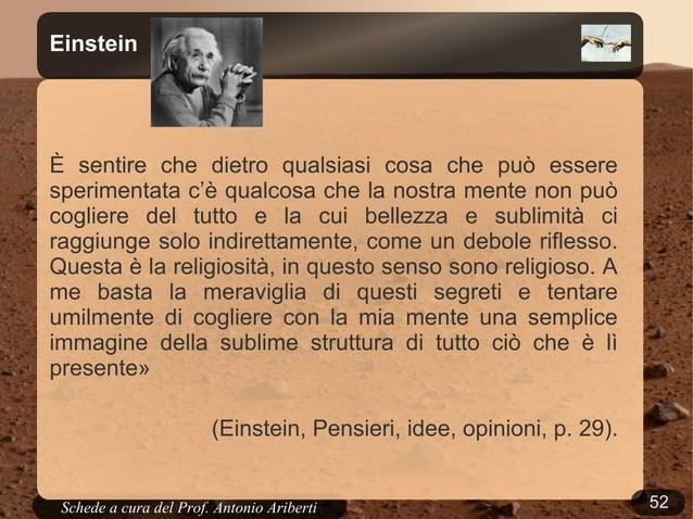 """52Schede a cura del Prof. AribertiChi ha """"ragione"""": la scienza o la Bibbia?"""