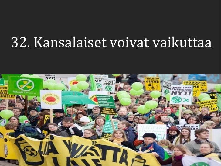 32 33 kansalaisjarjestot ja puolueet Slide 3