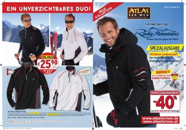 Katalog 17 - November 2014  Im Herzen der  Rüsten Sie sich gegen die Kälte!  SPEZIALAUSGABE  48 Seiten Leidenschaft  für m...