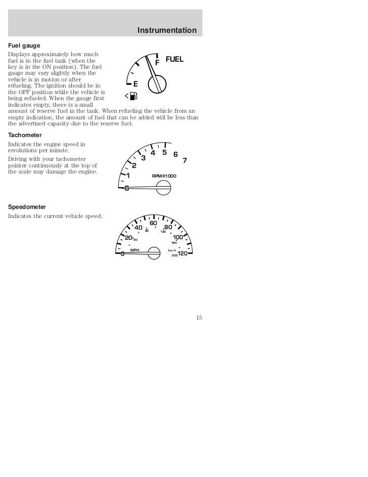 02 Ford Windstar Manual