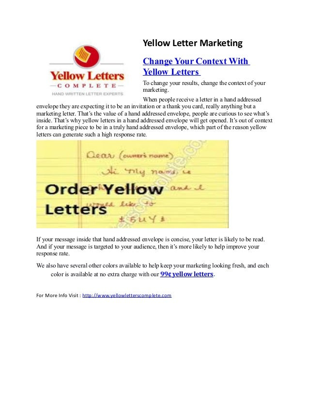 Real Estate Direct Mail Marketing | Real Estate Marketing Letter