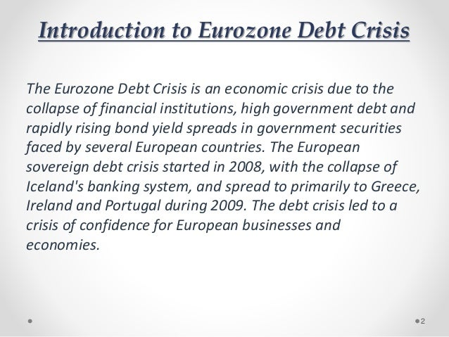 an introduction to the zambias debt crisis Chronic sovereign debt crises in the eurozone, 2010–2012 timothy j kehoe | consultant in this theory, the need to frequently sell large quantities of bonds leaves a country vulnerable to sovereign debt crisis this vulnerability provides a strong incentive to the country's government to run surpluses to pay down its debt to a level where a crisis.
