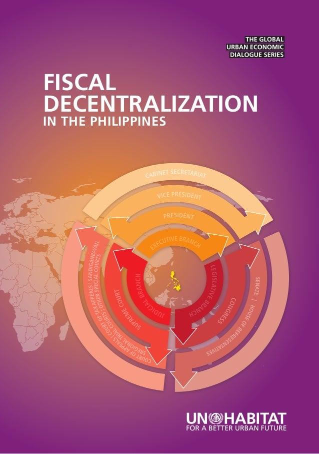 FISCALDECENTRALIZATIONIN THE PHILIPPINES