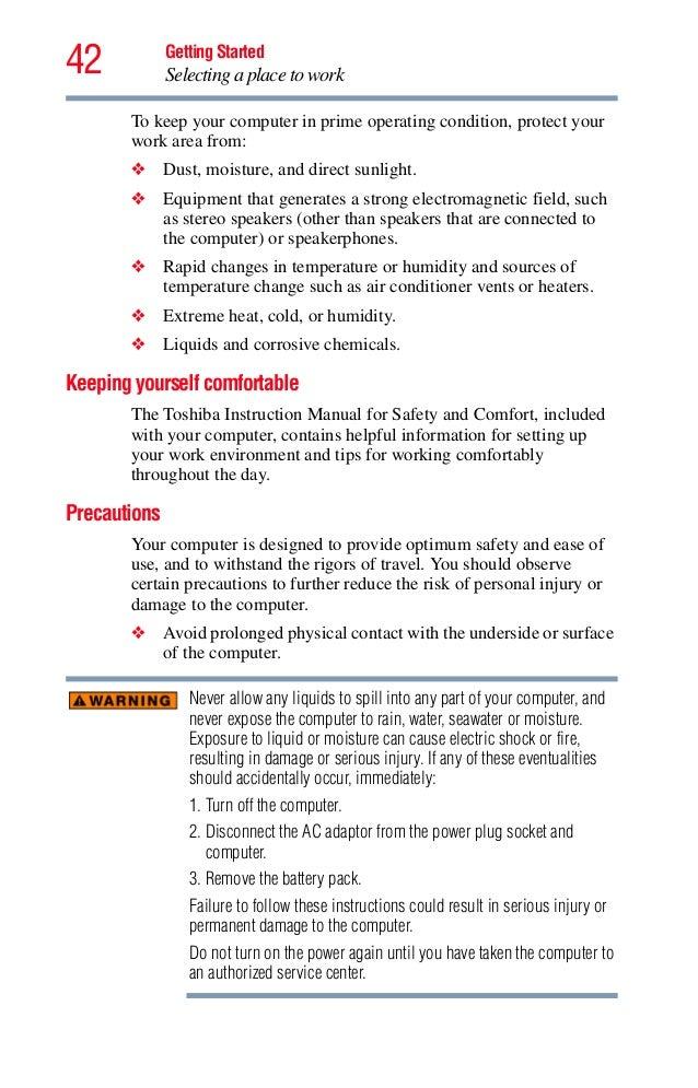 toshiba user manual for satellite a305 s6905 download rh slideshare net