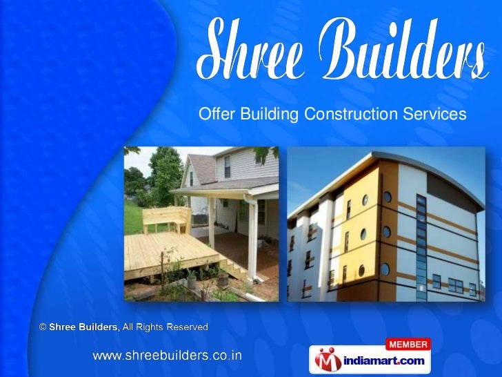 Offer Building Construction Services