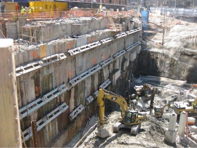 WTC Transportation Hub - Bathtub construction photos