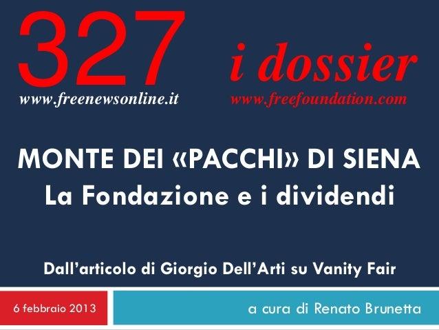 327 www.freenewsonline.it                               i dossier                               www.freefoundation.comMONT...
