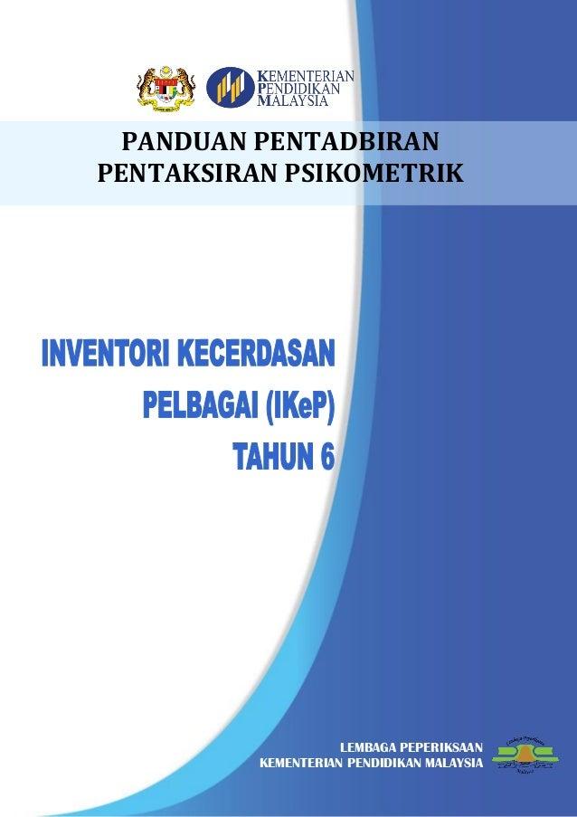 327155295 Panduan Pentadbiran Pentaksiran Ppsi I Ke P 2016 Pdf