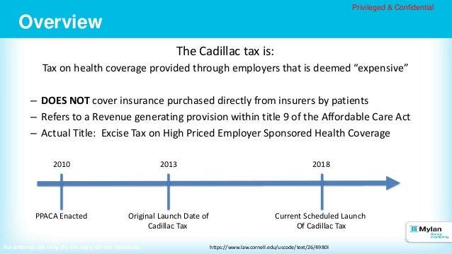 Cadillac Tax (1)