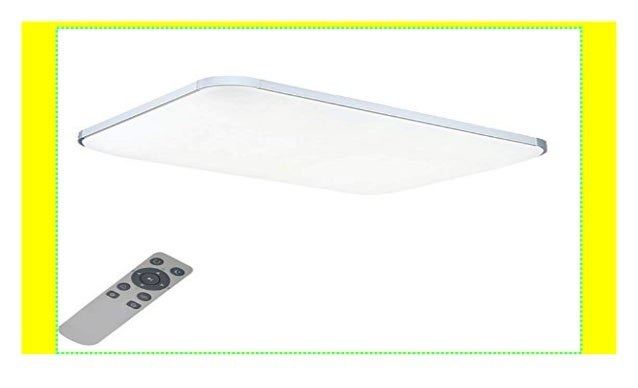 MYHOO 72W Dimmbar Ultraslim LED Deckenleuchte Modern ...
