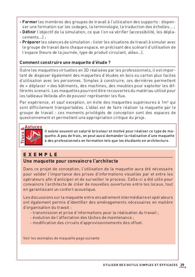 29 - Former les membres des groupes de travail à l'utilisation des supports : dispen- ser une formation sur les codages, l...