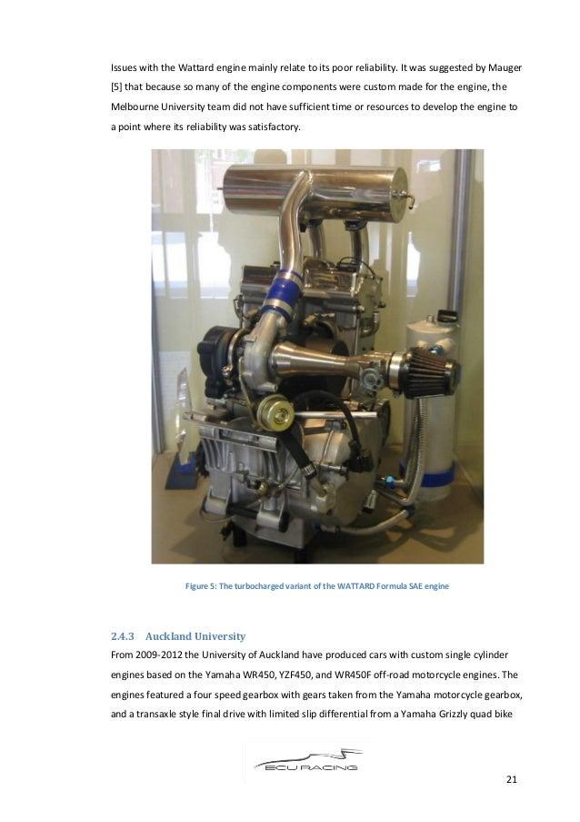 Engine Thesis