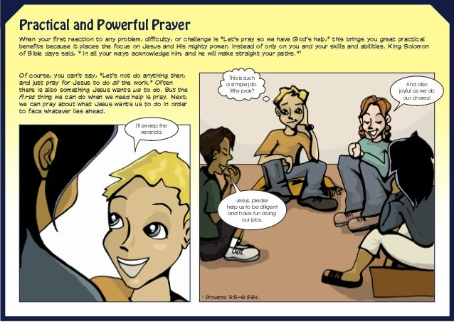"""Practical and Powerful Prayer When your first reaction to any problem, difficulty, or challenge is """"Let's pray so we have ..."""
