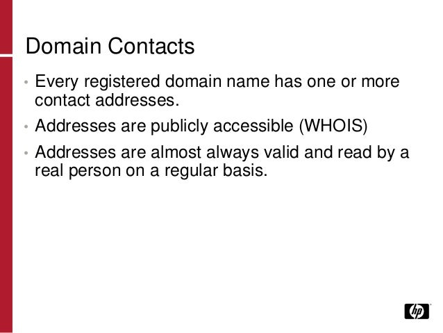 Email Address Harvesting