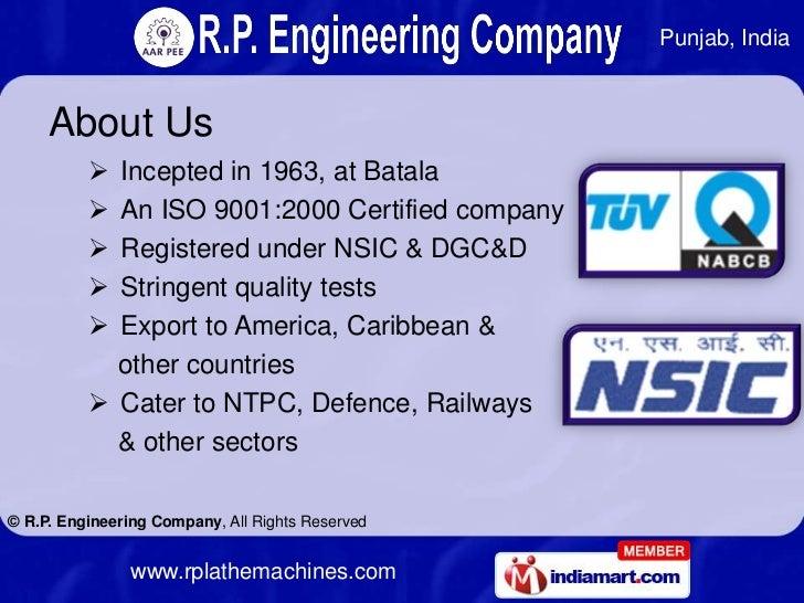 Radial Drill Machines by R.P. Engineering Company Batala Slide 2