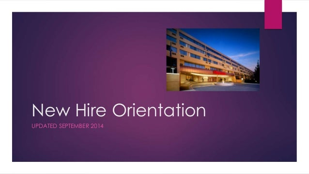 New hire orientation for New employee orientation template powerpoint
