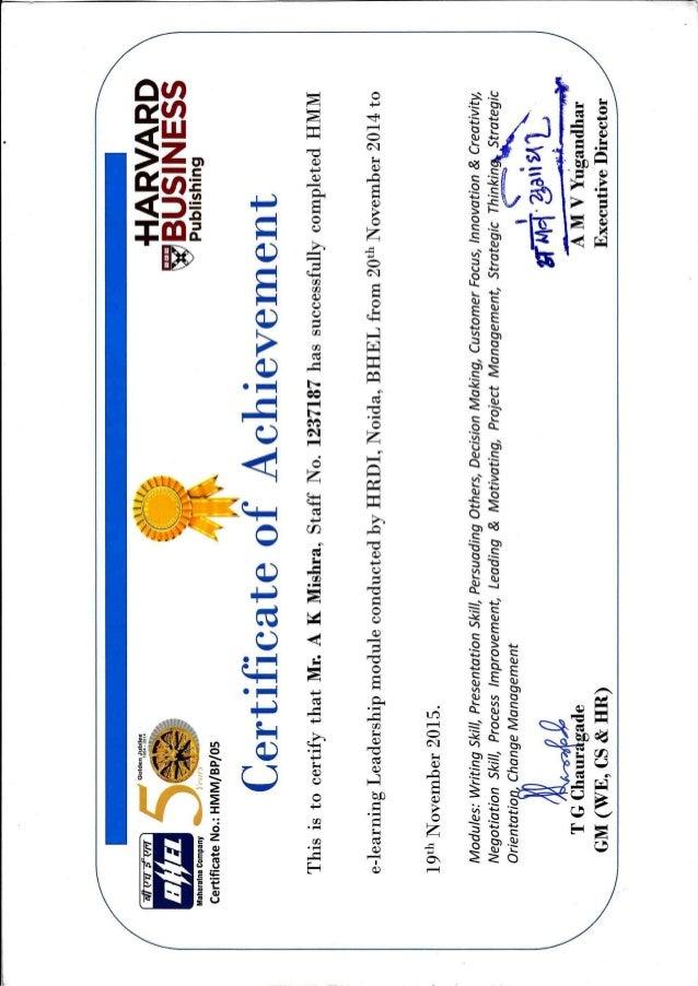 Certificate Hmm Harvardpdf