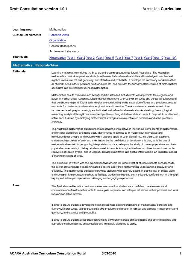 Draft Consultation version 1.0.1                                                                            Australian Cur...
