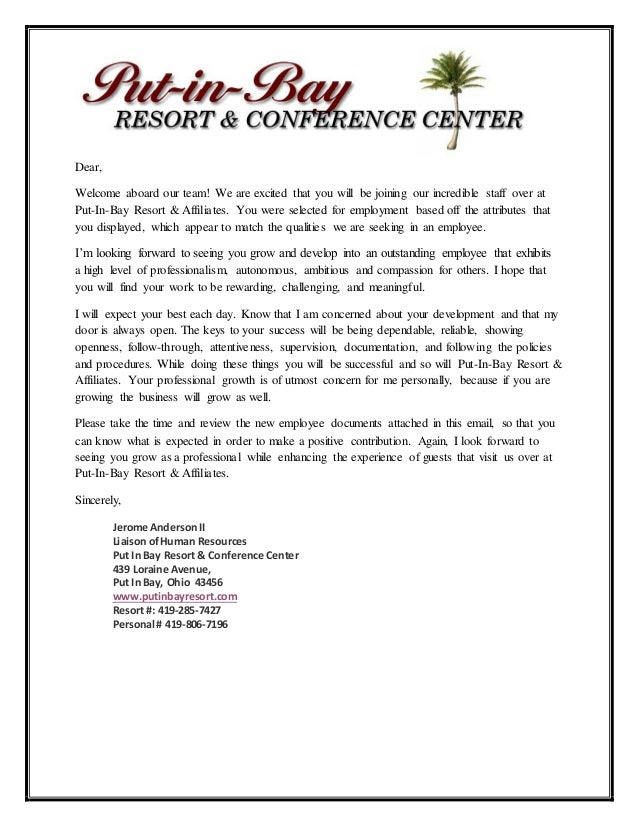 pib welcome letter 2