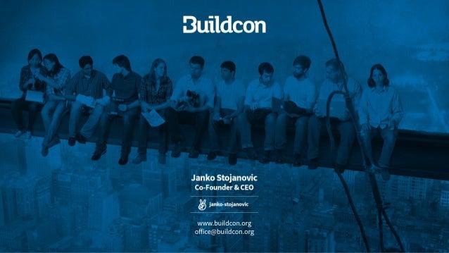 500's Demo Day Batch 16 >> Buildcon