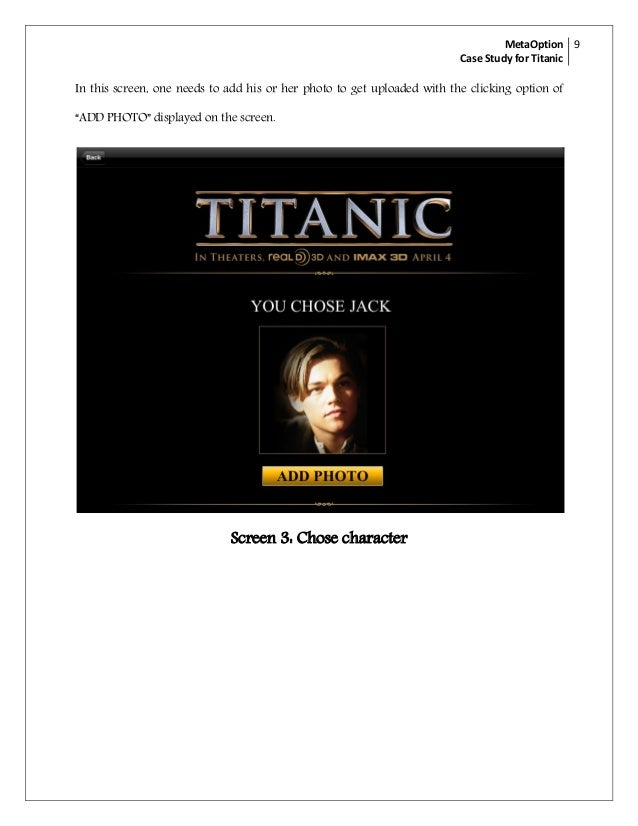 "an analysis of the film titanic A narrative analysis of the film, ""titanic a narrative analysis of film: alev."