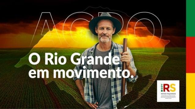 5º com maior valor bruto da produção agropecuária 4º maior em receita na pecuária: R$ 19,7 bilhões 4º nas exportações do A...