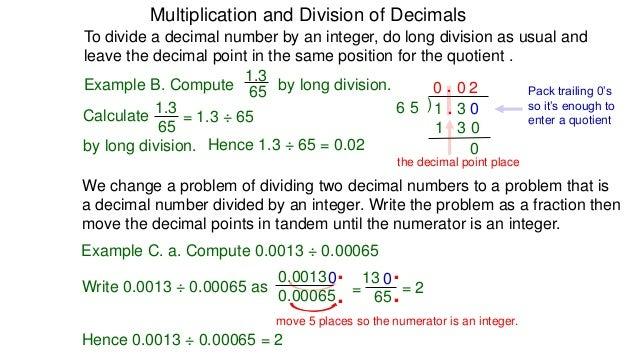 Number Names Worksheets decimal multiplication and division – Decimal Computation Worksheet
