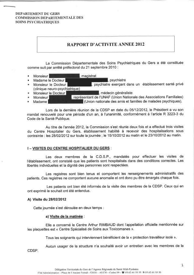 32 rapport activité cdsp 2012