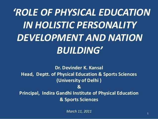 essay on role of education in personality development