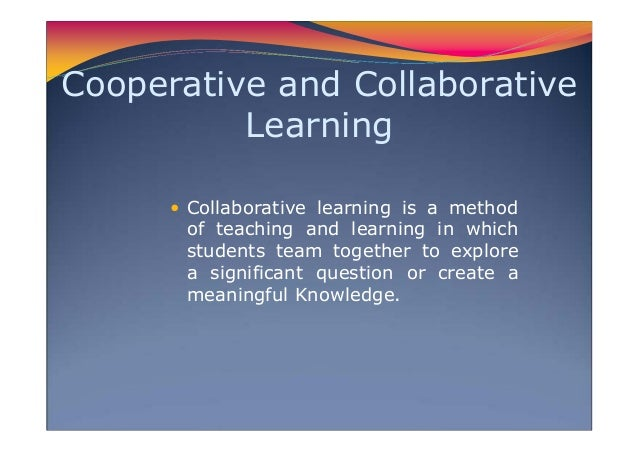 Collaborative Teaching Of Learning ~ Teaching strategies in math