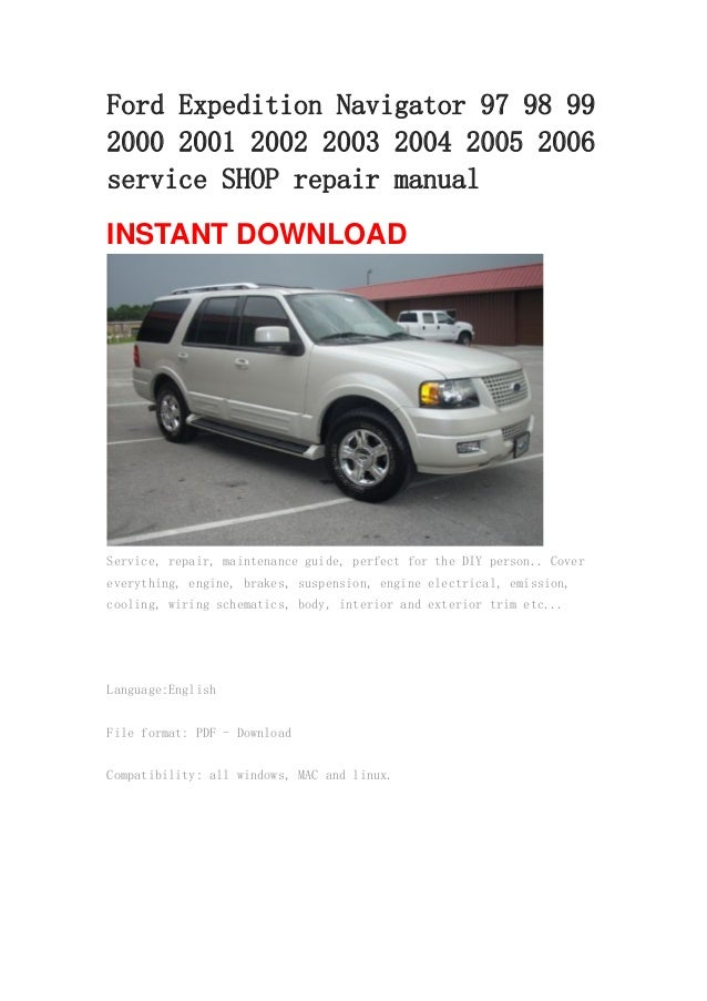 2004 ford expedition owners manual pdf.