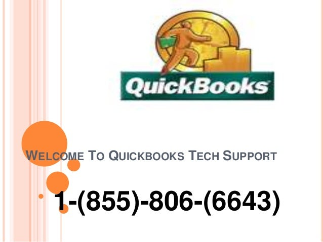 WELCOME TO QUICKBOOKS TECH SUPPORT 1-(855)-806-(6643)