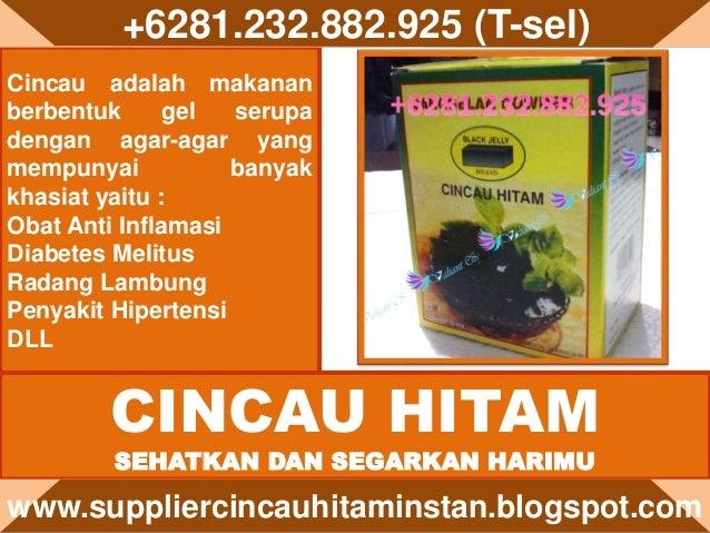 Cincau adalah makanan berbentuk gel serupa dengan agar-agar yang mempunyai banyak khasiat yaitu : Obat Anti Inflamasi Diab...
