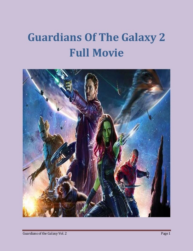 Watch Guardians Of The Galaxy Full Movie Online Full Movie