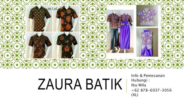 62 878 6037 3056 Xl Pin Bb 57110ae0 Gamis Batik Kombinasi Embos B