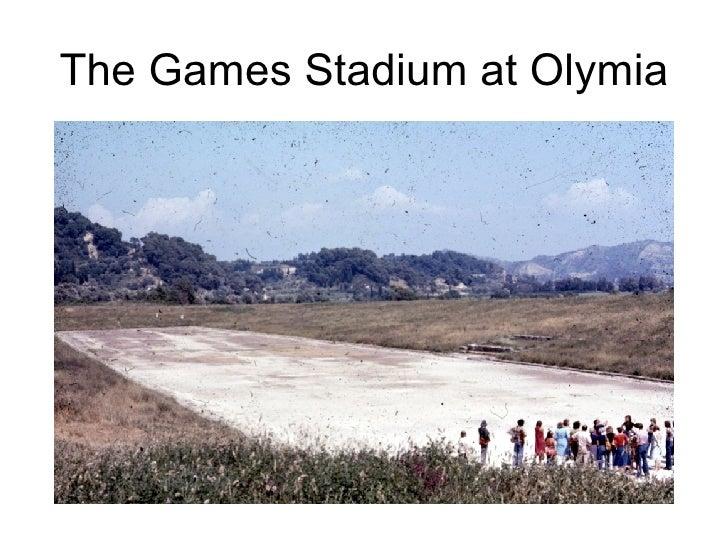 The Games Stadium at Olymia
