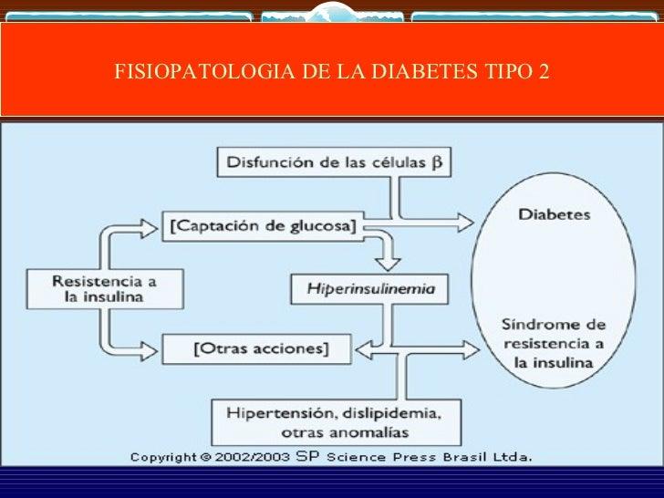 33. fisiopatologia de la diabetes