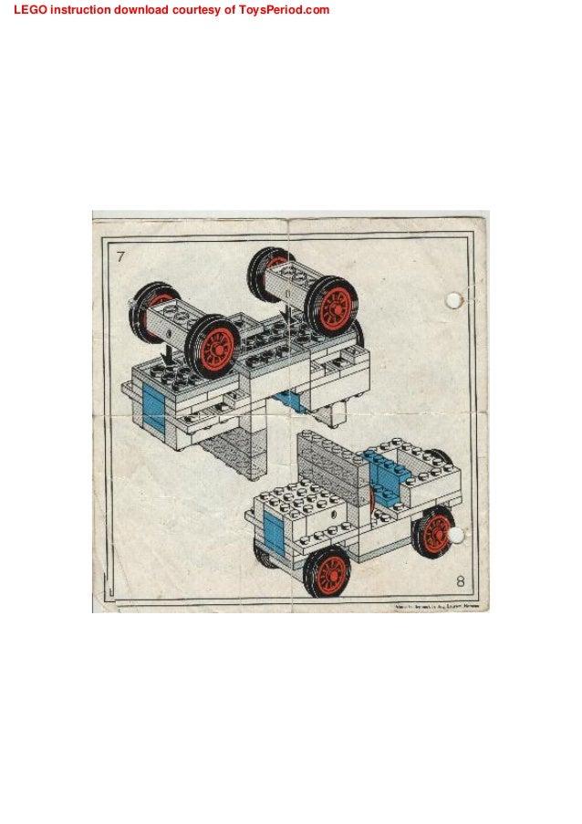Lego Instructions Basic Building Set 330