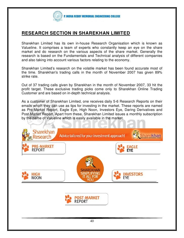 Sharekhan option trading brokerage
