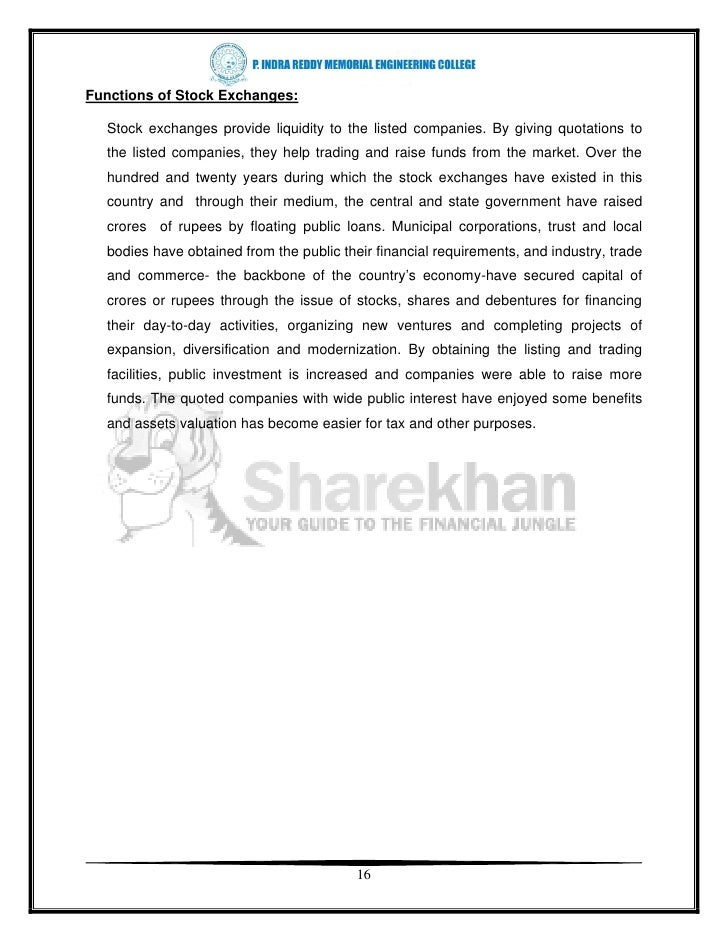 33059297 a-project-report-on-online-trading-stock-brokers-of-sharekhan