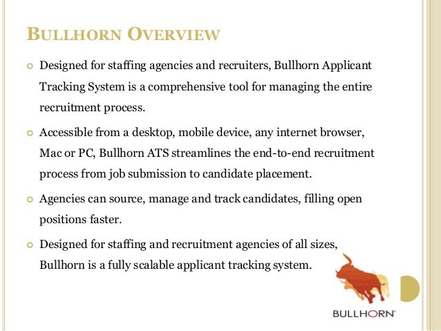 Bullhorn Job Search