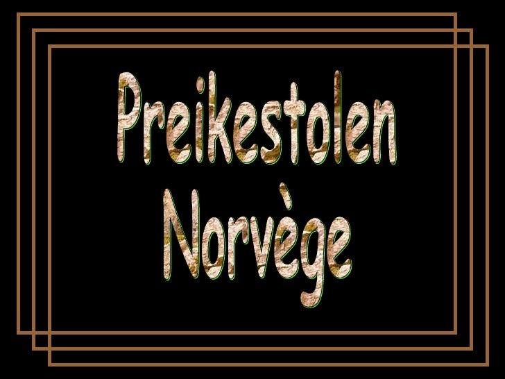Preikestolen Norvège