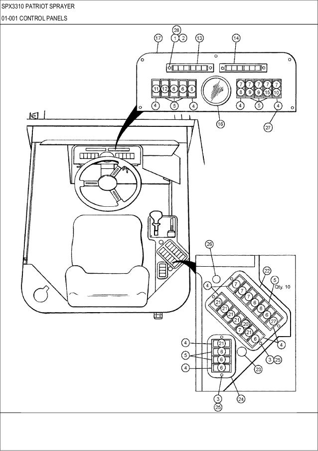 case spx 3310 patriot sprayer parts catalog rh slideshare net International Truck Electrical Diagrams 2006 International 4300 Truck Diagram