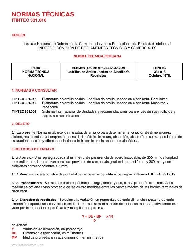 ORIGEN Instituto Nacional de Defensa de la Competencia y de la Protección de la Propiedad Intelectual INDECOPI COMISION DE...