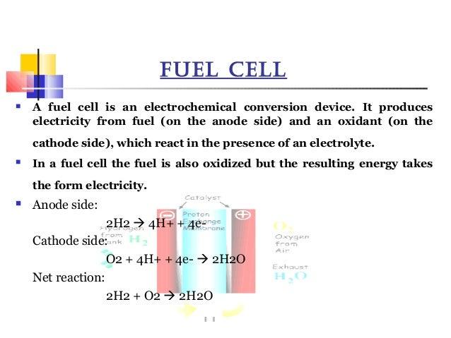 presentation on NANO-TECH REGENERATIVE FUEL CELL