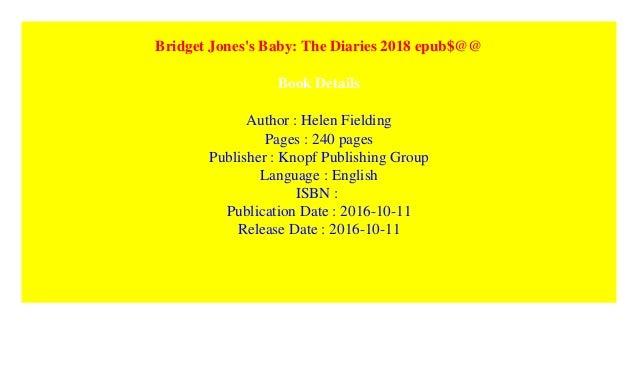 Diary epub download jones bridget